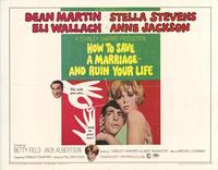 How to Save a Marriage and Ruin Your Life - 11 x 14 Movie Poster - Style C