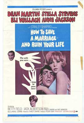 How to Save a Marriage and Ruin Your Life - 11 x 17 Movie Poster - Style A