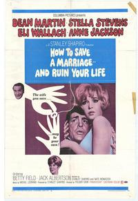 How to Save a Marriage and Ruin Your Life - 27 x 40 Movie Poster - Style A