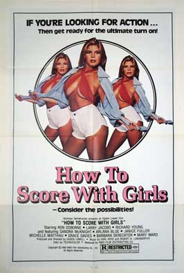 How to Score with Girls - 11 x 17 Movie Poster - Style A