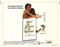 How to Seduce a Woman - 11 x 14 Movie Poster - Style A