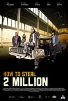 How to Steal 2 Million - 11 x 17 Movie Poster - South Africa Style A