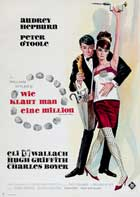 How to Steal a Million - 27 x 40 Movie Poster - German Style A