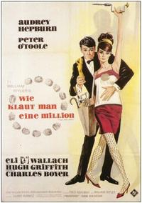 How to Steal a Million - 11 x 17 Movie Poster - German Style A
