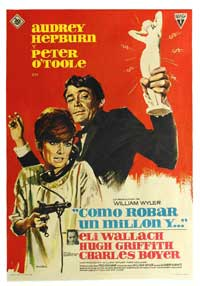 How to Steal a Million - 27 x 40 Movie Poster - Spanish Style B