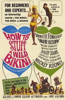 How to Stuff a Wild Bikini - 11 x 17 Movie Poster - Style A