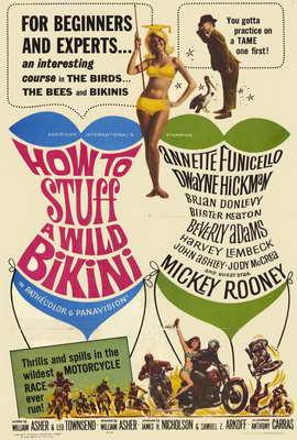 How to Stuff a Wild Bikini - 27 x 40 Movie Poster - Style A