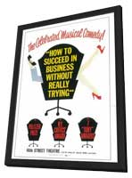 How to Succeed In Business Without Really Trying (Broadway) - 11 x 17 Poster - Style A - in Deluxe Wood Frame