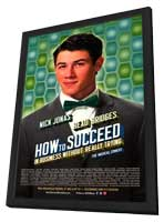 How to Succeed In Business Without Really Trying (Broadway) - 14 x 22 Poster - Style A - in Deluxe Wood Frame