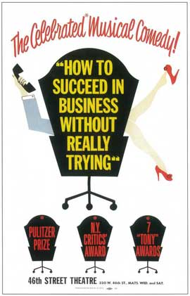 How to Succeed In Business Without Really Trying (Broadway) - 14 x 22 Poster - Style A