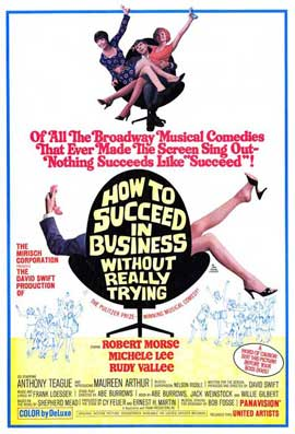 How to Succeed in Business without Really Trying - 27 x 40 Movie Poster - Style A