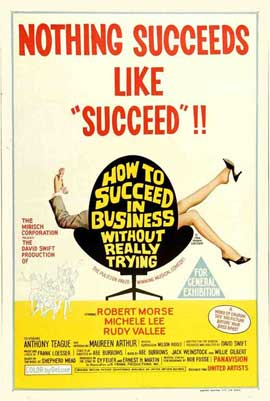 How to Succeed in Business without Really Trying - 27 x 40 Movie Poster - Australian Style A