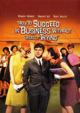 How to Succeed in Business without Really Trying - 11 x 17 Movie Poster - Style B