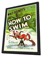 How to Swim - 27 x 40 Movie Poster - Style A - in Deluxe Wood Frame
