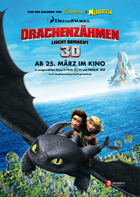 How to Train Your Dragon - 27 x 40 Movie Poster - German Style D