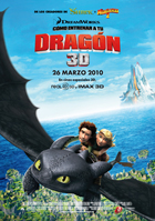 How to Train Your Dragon - 27 x 40 Movie Poster - Spanish Style B