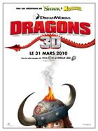 How to Train Your Dragon - 11 x 17 Movie Poster - French Style A