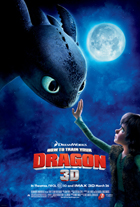 How to Train Your Dragon - 11 x 17 Movie Poster - Style A - Double Sided