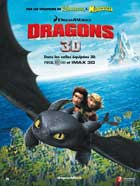 How to Train Your Dragon - 11 x 17 Movie Poster - French Style B
