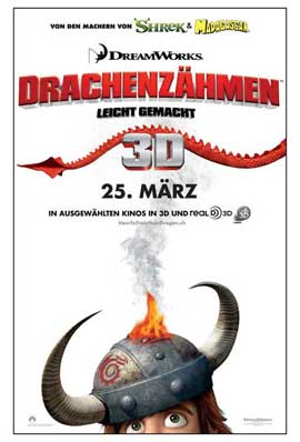 How to Train Your Dragon - 11 x 17 Movie Poster - Swiss Style A