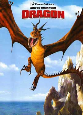 How to Train Your Dragon - 11 x 17 Movie Poster - Style E