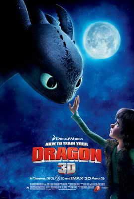How to Train Your Dragon - 27 x 40 Movie Poster - Style D