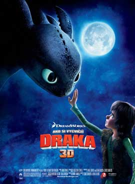 How to Train Your Dragon - 11 x 17 Movie Poster - Czchecoslovakian Style A