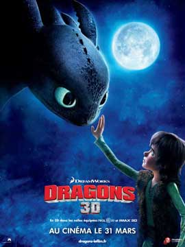 How to Train Your Dragon - 11 x 17 Movie Poster - French Style C