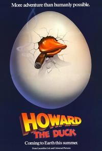 Howard the Duck - 27 x 40 Movie Poster - Style B