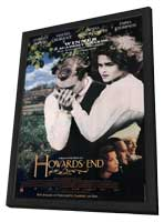 Howards End - 11 x 17 Movie Poster - Style A - in Deluxe Wood Frame