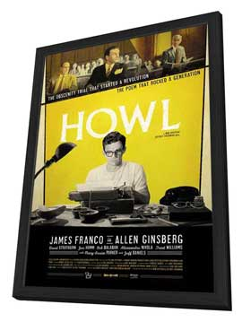 Howl - 11 x 17 Movie Poster - Style A - in Deluxe Wood Frame