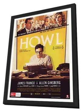 Howl - 27 x 40 Movie Poster - Style B - in Deluxe Wood Frame