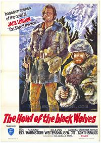 Howl of the Black Wolves - 43 x 62 Movie Poster - Bus Shelter Style A