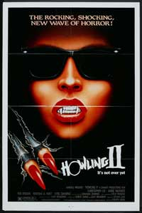Howling II: Stirba - Werewolf Bitch - 27 x 40 Movie Poster - Style B