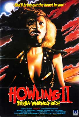 Howling II: Stirba - Werewolf Bitch - 27 x 40 Movie Poster - UK Style A