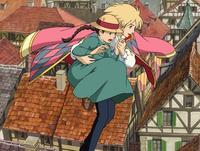 Howl's Moving Castle - 8 x 10 Color Photo #2