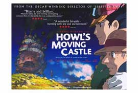 Howl's Moving Castle - 27 x 40 Movie Poster - Style B