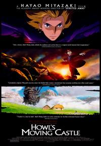 Howl's Moving Castle - 43 x 62 Movie Poster - Bus Shelter Style A