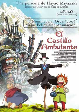 Howl's Moving Castle - 11 x 17 Movie Poster - Spanish Style A