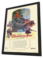 Huckleberry Finn - 11 x 17 Movie Poster - Style B - in Deluxe Wood Frame