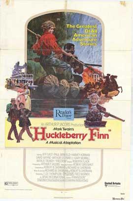 Huckleberry Finn - 11 x 17 Movie Poster - Style A