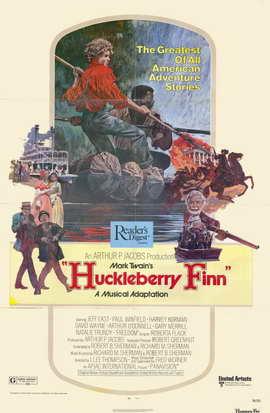 Huckleberry Finn - 11 x 17 Movie Poster - Style B