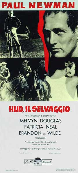 Hud - 13 x 28 Movie Poster - Italian Style A