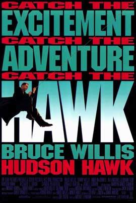 Hudson Hawk - 11 x 17 Movie Poster - Style B