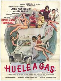 Huele a gas - 27 x 40 Movie Poster - Spanish Style A