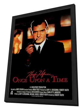 Hugh Hefner: Once Upon a Time - 27 x 40 Movie Poster - Style A - in Deluxe Wood Frame