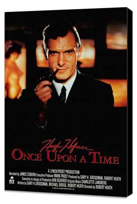 Hugh Hefner: Once Upon a Time - 27 x 40 Movie Poster - Style A - Museum Wrapped Canvas