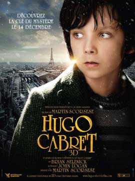 Hugo - 11 x 17 Movie Poster - French Style B