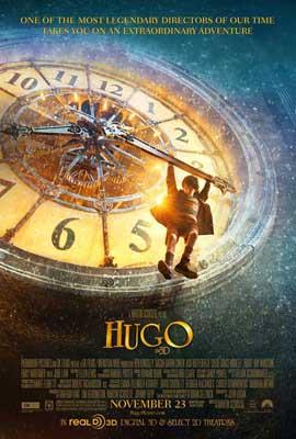 Hugo - 27 x 40 Movie Poster - Style B
