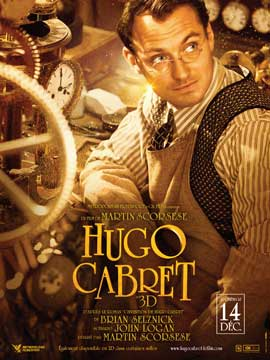 Hugo - 11 x 17 Movie Poster - French Style C